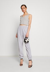 Missguided - SIGNATURE BASIC - Joggebukse - grey - 1
