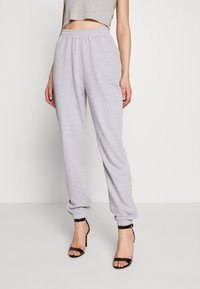 Missguided - SIGNATURE BASIC - Pantalon de survêtement - grey - 0