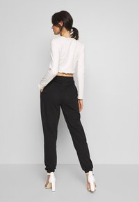 Missguided - SIGNATURE BASIC - Joggebukse - black - 2