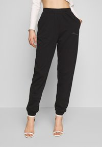 Missguided - SIGNATURE BASIC - Joggebukse - black - 0