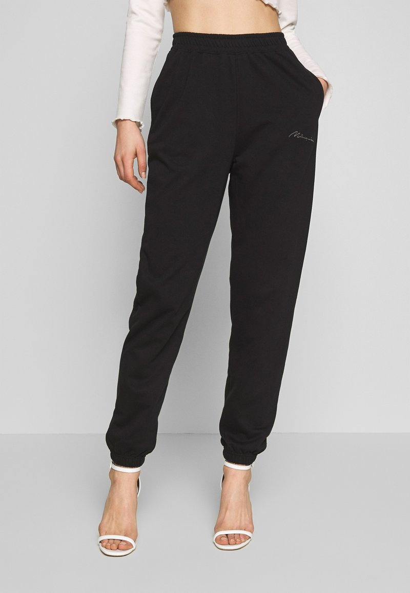 Missguided - SIGNATURE BASIC - Joggebukse - black