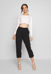 Missguided - SIGNATURE BASIC - Joggebukse - black - 1