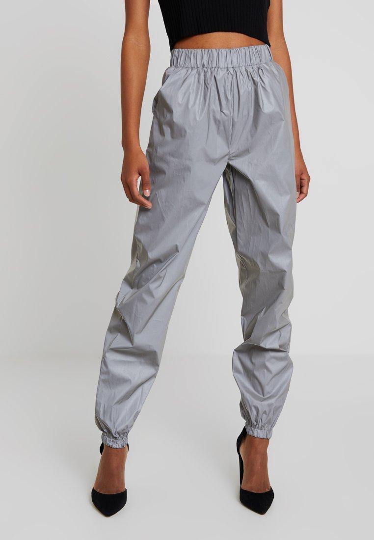 Missguided - REFLECTIVE - Bukser - grey