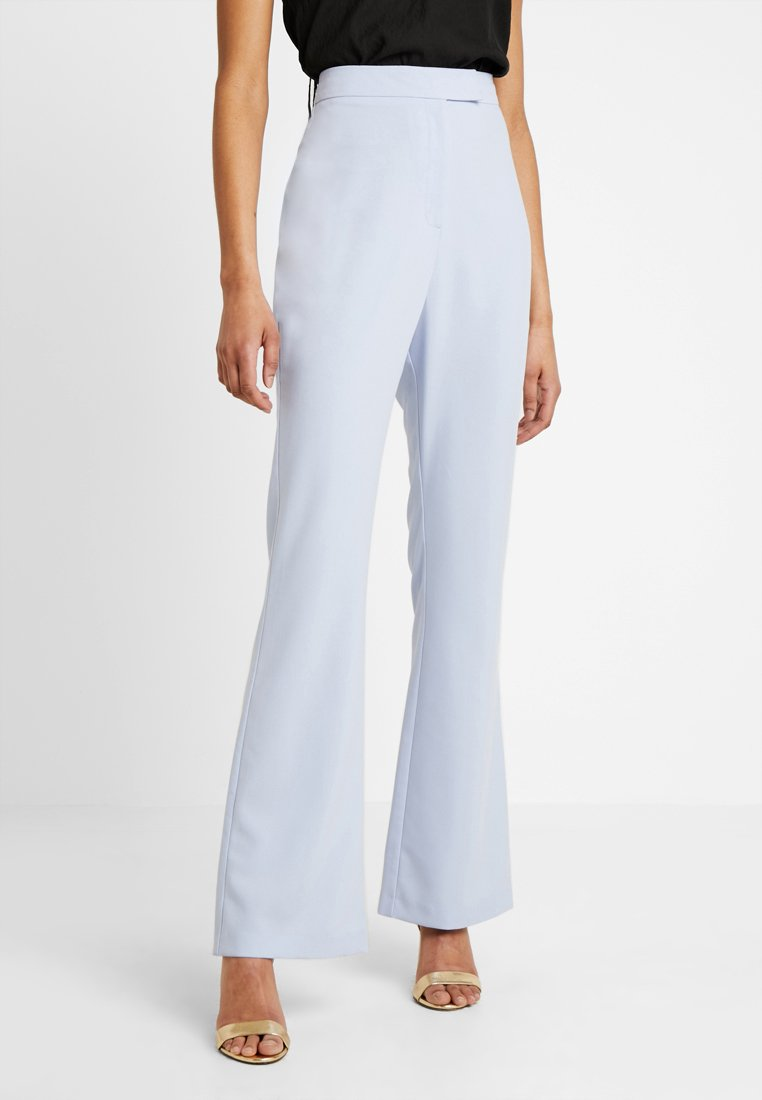 Missguided - FLARED TROUSER - Pantalones - blue