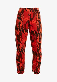 Missguided - CAMO UTILITY POCKET JOGGER - Joggebukse - orange - 4