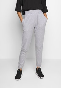 Missguided - 2 PACK BASIC JOGGER - Tracksuit bottoms - pink/grey - 4