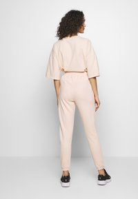 Missguided - 2 PACK BASIC JOGGER - Tracksuit bottoms - pink/grey - 3