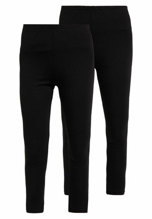 FULL LENGTH 2 PACK - Leggings - black