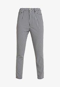 Missguided - CIGARETTE TROUSER - Trousers - black - 4