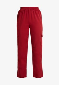 Missguided - POCKET UTILITY TROUSERS - Pantalon classique - red - 5