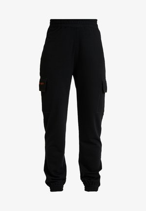JORDAN LIPSCOMBE EMBROIDERED JOGGER - Pantalon de survêtement - black