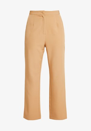 TAILORED TROUSER  - Broek - camel