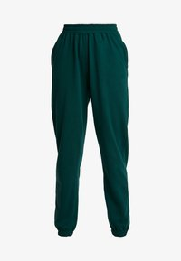 Missguided - BASIC JOGGER - Pantalones deportivos - green - 3