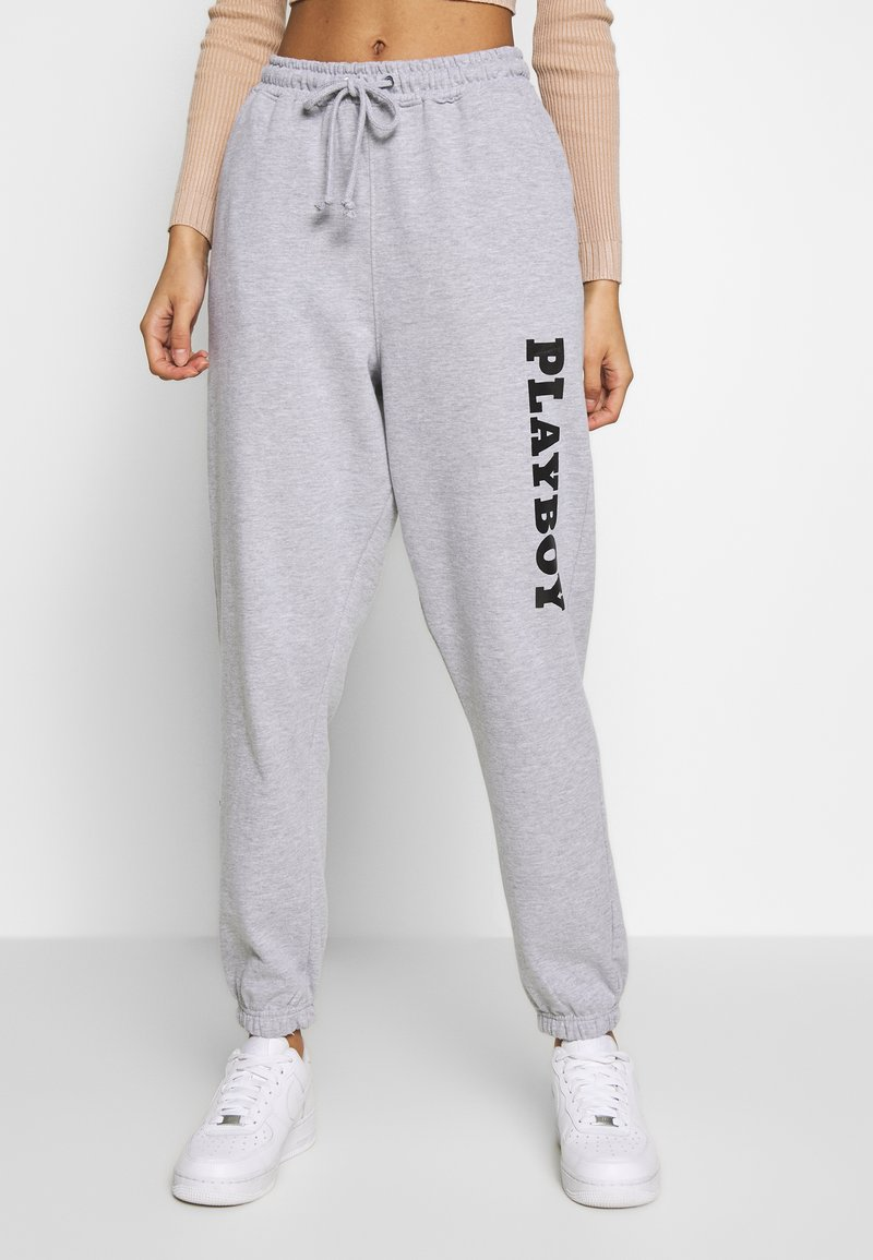 Missguided - LOUNGE - Tracksuit bottoms - grey