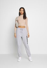 Missguided - LOUNGE - Pantalones deportivos - grey - 1