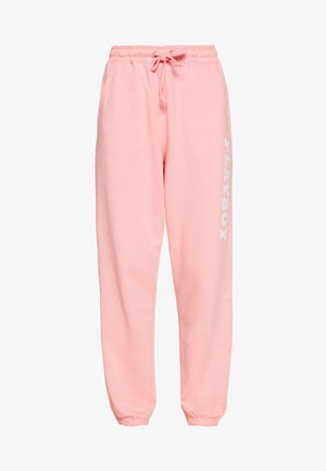 PLAYBOY LOUNGE PANTS - Joggebukse - pink