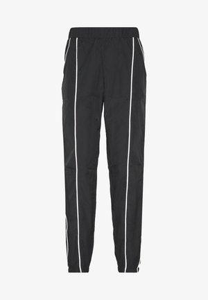 CODE CREATE JOGGERS WITH REFLECTIVE PIPING - Kalhoty - black