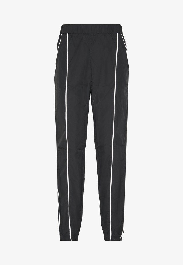 CODE CREATE JOGGERS WITH REFLECTIVE PIPING - Bukser - black