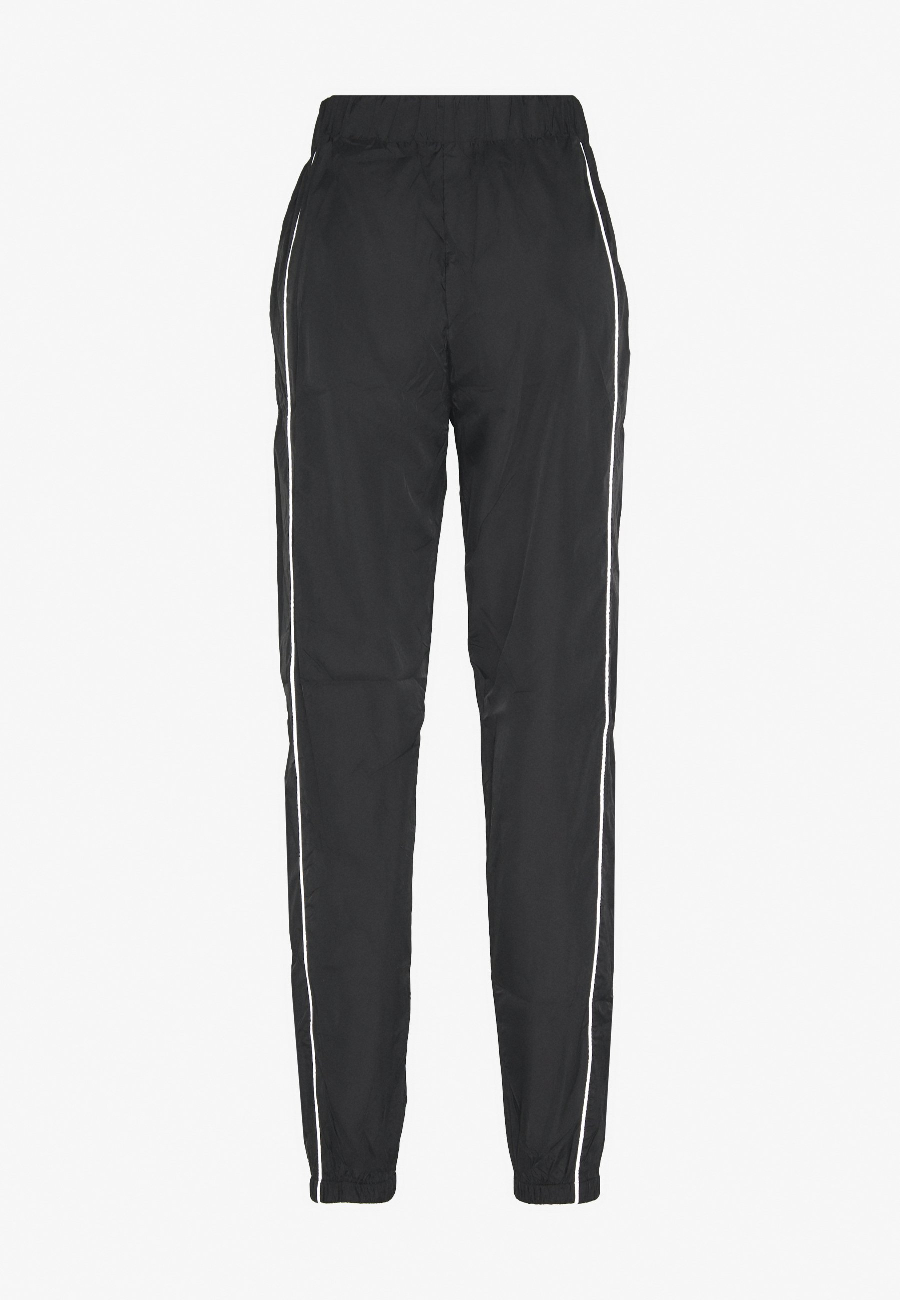 Missguided Code Create Joggers With Reflective Piping - Tygbyxor Black