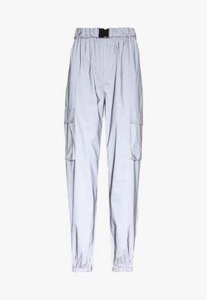 CODE CREATEREFLECTIVE JOGGERS - Tracksuit bottoms - grey