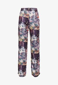 Missguided - FLORAL TROUSERS - Bukse - purple - 3
