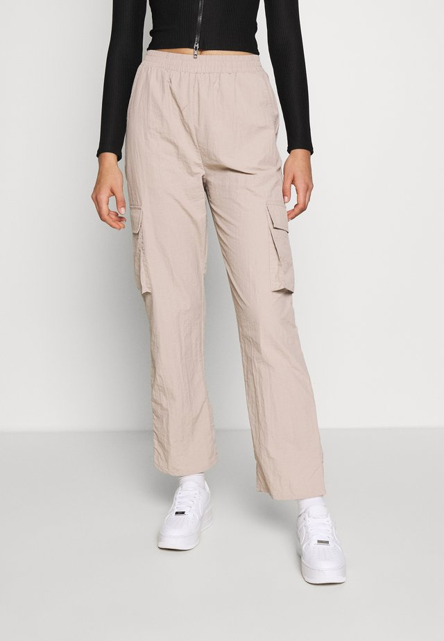 UTLITY - Trousers - beige