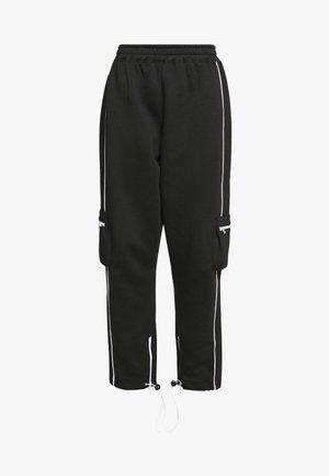 CONTRAST PIPE DETAIL POCKET JOGGER - Pantalon de survêtement - black