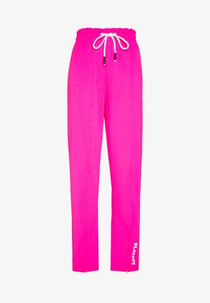 PLAYBOY SPLIT STRAIGHT LEG TROUSERS - Tracksuit bottoms - pink