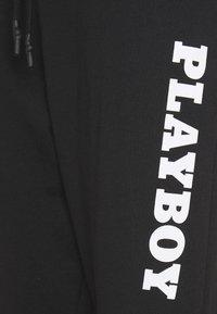 Missguided - PLAYBOY LOGO OVERSIZED - Træningsbukser - black - 2