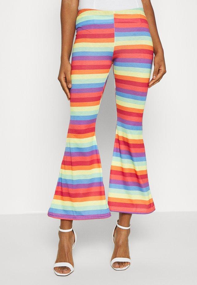 PRIDE RAINBOW STRIPE  - Trousers - multi