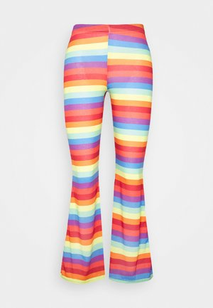 PRIDE RAINBOW STRIPE  - Trousers - multi