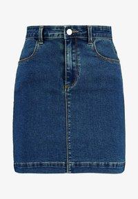 Missguided - SUPERSTRETCH SKIRT  - Spódnica trapezowa - blue - 4