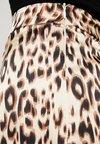 Missguided - ANIMAL PRINT MIDI SKIRT - Pencil skirt - gold