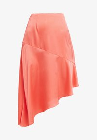 Missguided - ASYMMETRIC SKIRT - A-line skirt - coral - 3