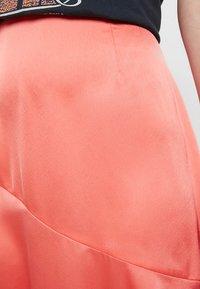 Missguided - ASYMMETRIC SKIRT - A-line skirt - coral - 4