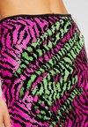 Missguided - 2 WAY ZEBRA SEQUIN MINI SKIRT - Minifalda - multi-coloured