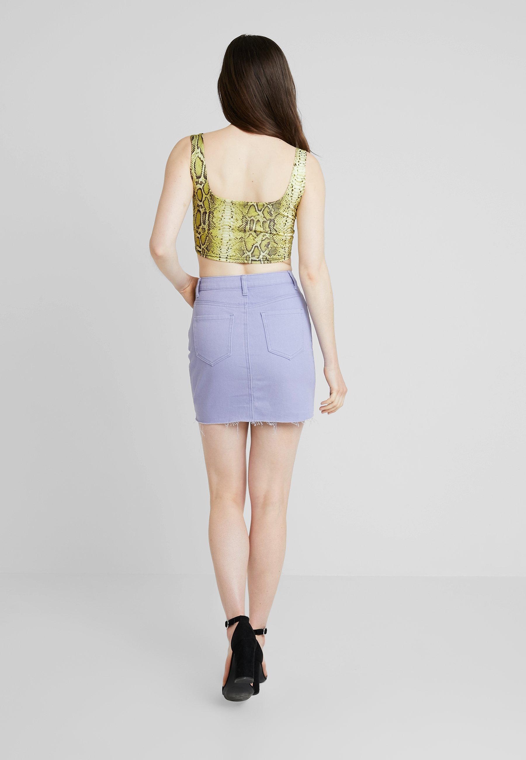 Lilac Missguided Missguided Campana SkirtGonna A pMSUzV