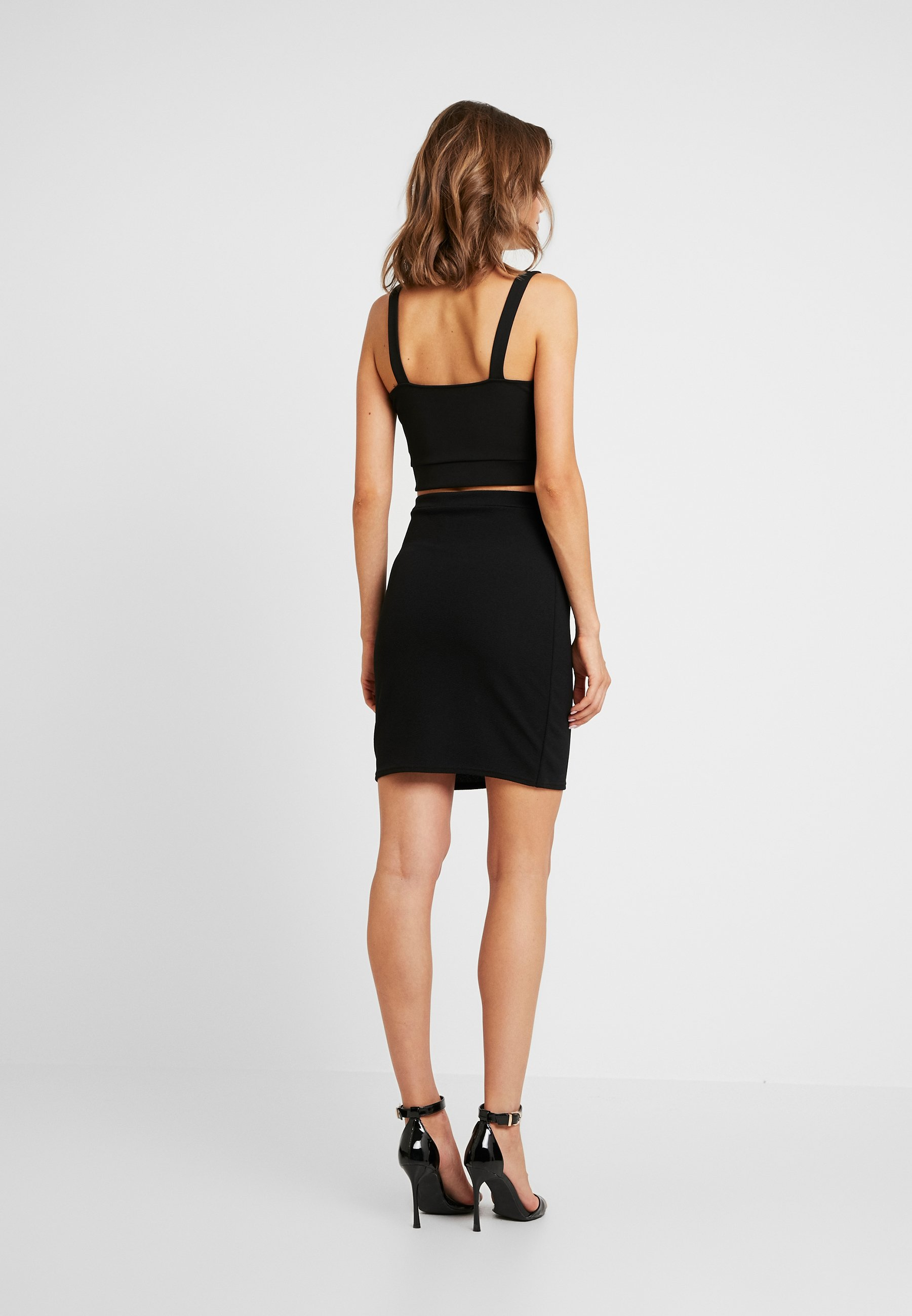 And Black Bodycon SkirtMinijupe Eye Mini Hook Missguided tsrQdCBxh