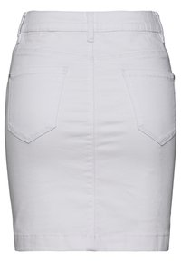 Missguided - SUPER STRETCH SKIRT - Minijupe - white - 1