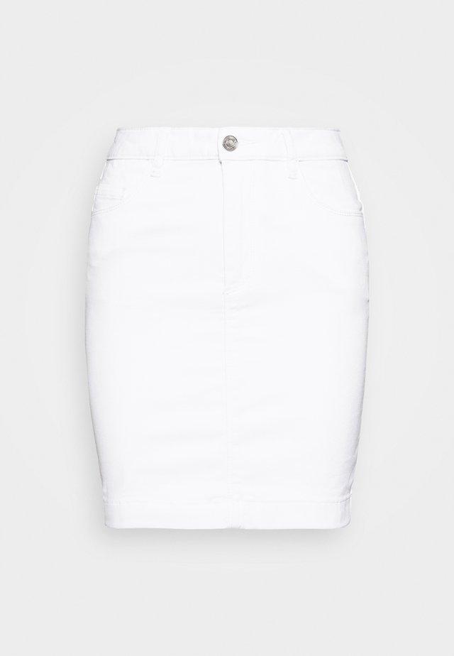 SUPER STRETCH SKIRT - Minirok - white