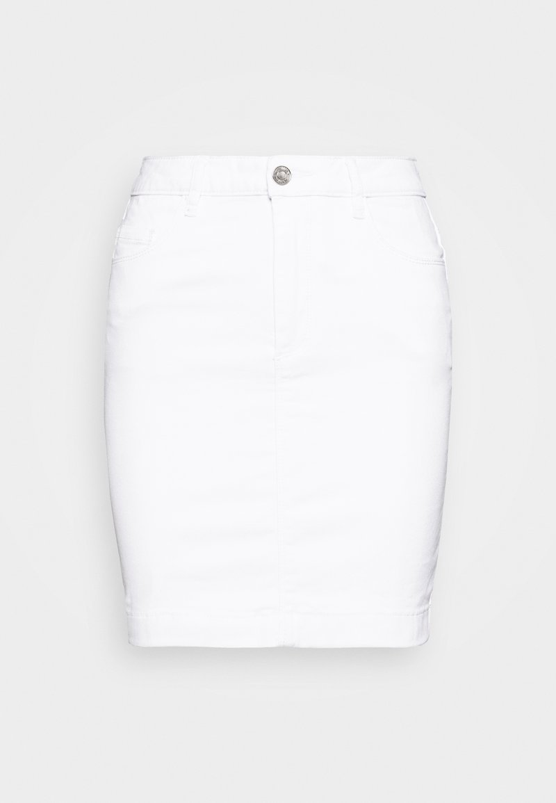 Missguided - SUPER STRETCH SKIRT - Minijupe - white