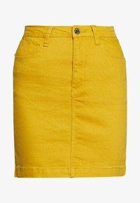 Missguided - SUPER STRETCH SKIRT - Jupe crayon - mustard - 3