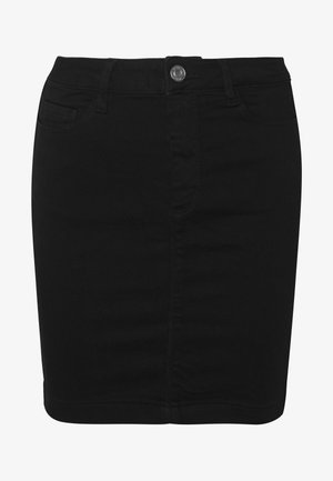SUPER STRETCH SKIRT - Mini skirt - black