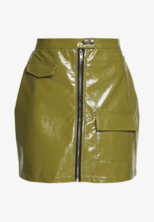 UTILITY MINI SKIRT - Minikjol - green