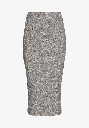 MARL MIDI SKIRT - Pencil skirt - grey