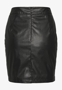 Missguided - FESTIVAL EXCLUSIVE FLAME SKIRT - Minisukně - black - 1