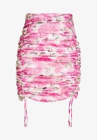 Missguided - SHEER MINI SKIRT - Jupe crayon - pink - 3