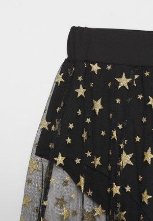 FESTIVAL EXCLUSIVE STAR MAXI SKIRT - Gonna a campana - black