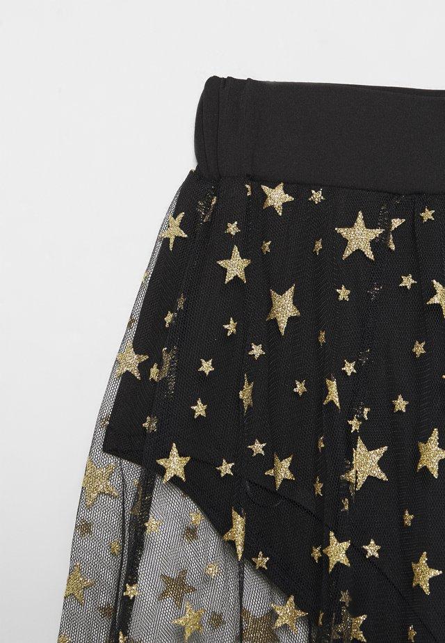 FESTIVAL EXCLUSIVE STAR MAXI SKIRT - A-line skirt - black