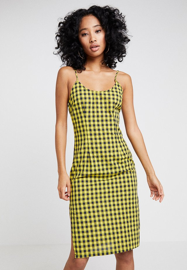 CREATIVE MANIFESTO CAMI DRESS - Day dress - yellow
